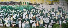 Scott Buchanan Barden's Bristol Mural (scott buchanan barden) Tags: graffiti riot mural war oppression protest tesco croft stokes anti arrested arrest bristolriots bs4 april2011 muralbathroad