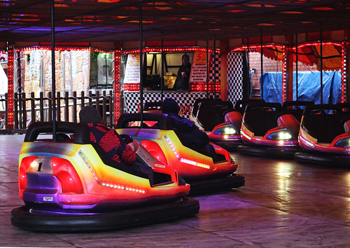 The Dodgems/bumper cars