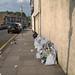 Moorefield Road - dumped bags