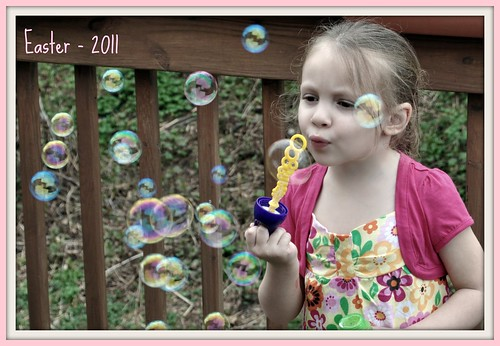 Danika and the bubbles