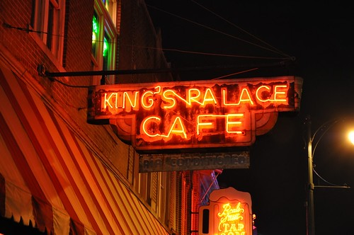 King's Palace Cafe Neon Sign