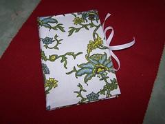 recipe envelope book