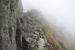 涸沢岳-北穂の岩場