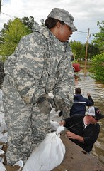 2113th Transportation Company flood relief mission