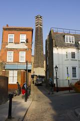 Streatley Place, NW3 (Tetramesh) Tags: uk greatbritain england london unitedkingdom britain londres hampstead londra infirmary londen redbrick londinium lontoo llondon portlandstone nw3 londone londyn llundain londn  londonboroughofcamden laundryhouse londona londain londono newendhospital tetramesh  loundres streatleyplace hampsteadworkhouse londr boadesmews  keithdyoung frederickgoughandco hampsteadworkhouseinfirmary