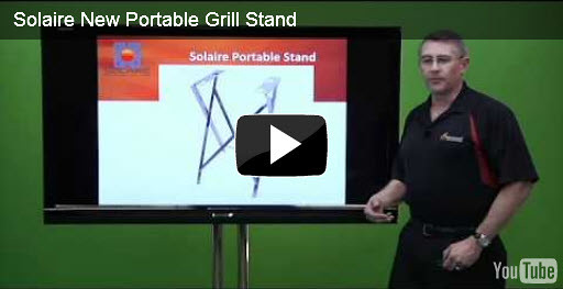 New Stand For Portable Grills
