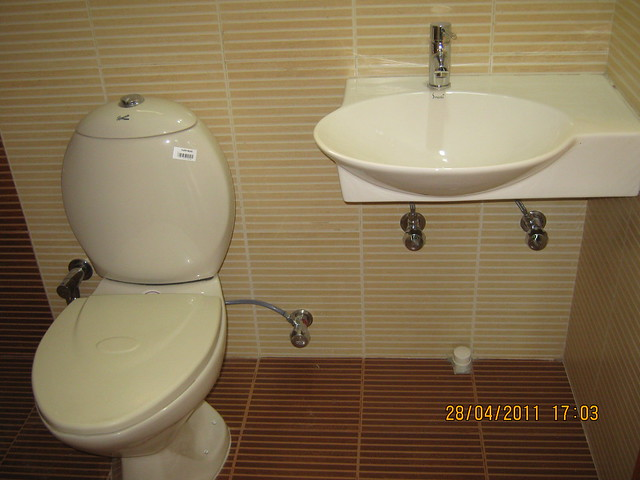 Basin & commode in Sangria Towers at Megapolis Hinjewadi Phase 3, Pune
