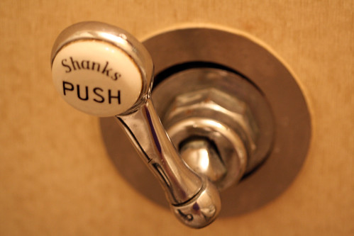 Queen Mary - Toilet Flusher (Cabin M134 now M154)