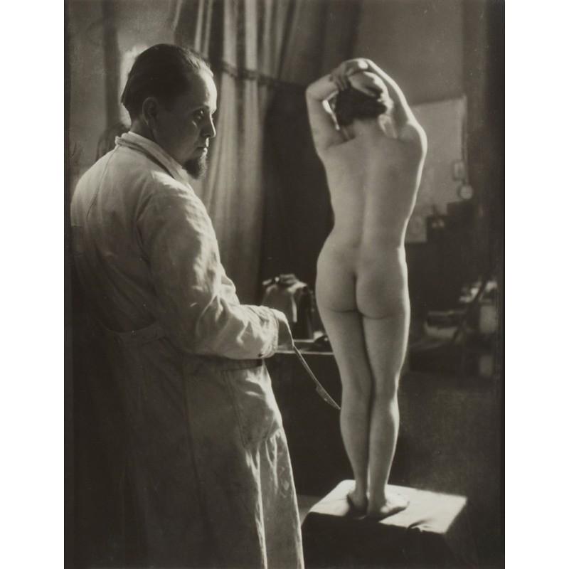 Rudolf Koppitz Sculptor and Nude