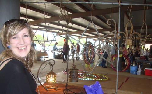Chrissy Wise / Jimmy Cousins' welding: Texas Ave Maker's Fair, Spring 2011 by trudeau