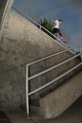 Justin Vinson FS 5050 (chris.gilmour) Tags: justin texas skateboarding houston kegstand vinson unassisted