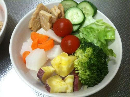朝食サラダ(2011/5/2)
