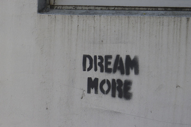 Stencil ~ Dream More