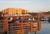 Crowds at Fernandina Harbor Marina Riverfront During Shrimp Festival