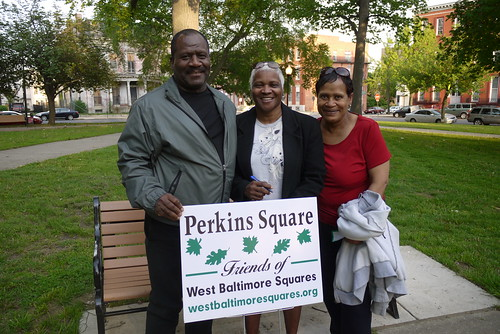 Heritage Crossing residents at the West Baltimore Squares Spring Celebration