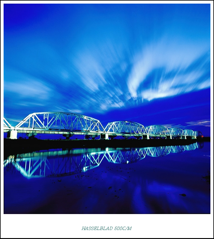 88風災後的鐵橋