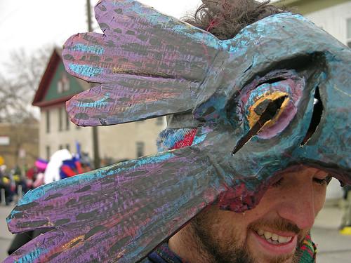 MayDay 2011 crow headgear