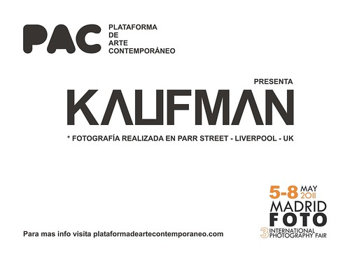 Back of promo Madrid Foto 2011 - Kaufman