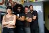 Reggie Watts at the Do512 Lounge (Do512.com) Tags: austin shiner reggiewatts diamondcenter themeek do512 do512lounge blackryder thenightbeats 20110430 loungereggie