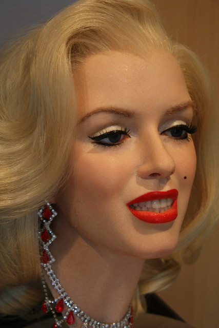 Marilyn Monroe silicone figure by Tony Webb Creative Services