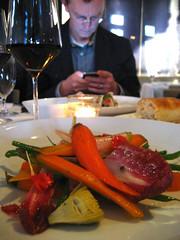 Aarron and salad