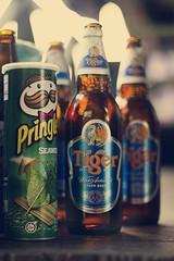 1.5.11 (obo-bobolina) Tags: beer tiger may malaysia 365 pringles cherating 2011 project365 seaweedpringle