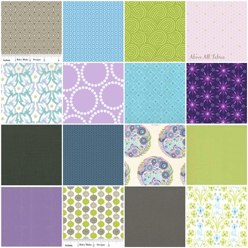 Fat Quarterly Fabric Pack | Above All Fabrics