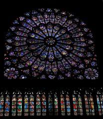 Vitrales Catedral de Notre Dame (Gustavo Fernando Durán) Tags: paris france europa europe gimp catedral notredame cathédrale vitrail notre dame francia parís vitral vitraux vitrales canonpowershots3is