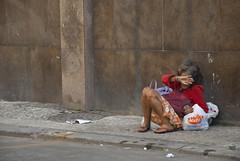 (Tai Linhares) Tags: poverty street city brazil people southamerica riodejaneiro trash sadness alley nikon homeless dirty elderly pollution brazilian oldwoman melancholy dust oldpeople shame abandonment pobreza powerfull poorpeople centrodorio rioantigo brazilianphotographer