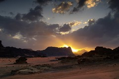 Bye Bye Jordanie (photosenvrac) Tags: landscape photo desert paysage jordanie couchdesoleil wadyrum