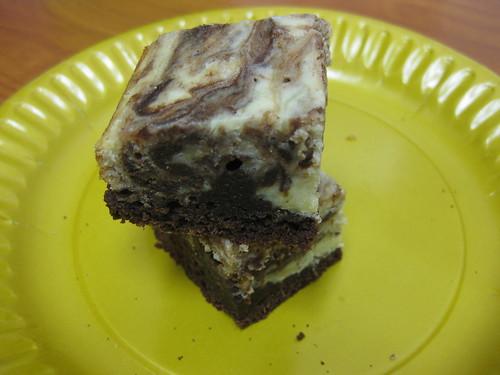Marble Cheese Brownies #2