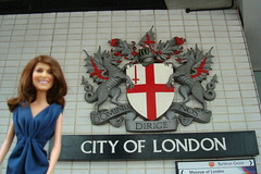 Princess Catherine Engagement Doll in the City of London (Princess Catherine Doll) Tags: london toy doll princess kate royal tourist catherine british middleton arklu