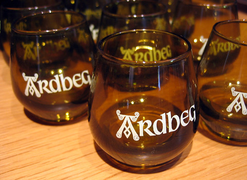 Ardbeg shot glasses