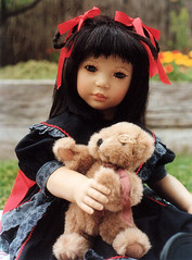 My favourite teddy! (Airelda) Tags: doll shireem himstedt annettehimstedt