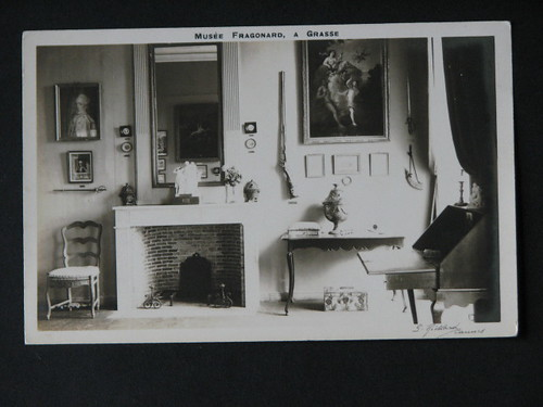 vintage postcards - musee fragonard 001