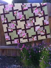 Quilt from Modern Basics done in Gypsy by Felicity Miller