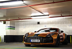 Funky. (Alex Penfold) Tags: auto camera orange black london cars alex sports car sport yellow mobile canon photography eos one 1 photo cool flickr martin image awesome flash rally picture wrap super spot exotic chrome photograph seven spotted hyper aja 3000 77 supercar aston spotting gumball astonmartin matte numberplate exotica sportscar sportscars supercars penfold spotter 2011 xc11 hypercar 60d hypercars one77 alexpenfold xc11aja