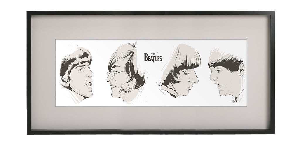 beatles sketch