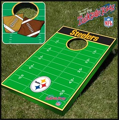 Pittsburgh Steelers Bean Bag Toss Game