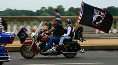 Rolling Thunder (WilliamMarlow) Tags: washingtondc nikon may motorcycles vietnam cc harleydavidson mia creativecommons hd pow panning memorialbridge memorialday rollingthunder memorialdayparade d7000 nikond7000