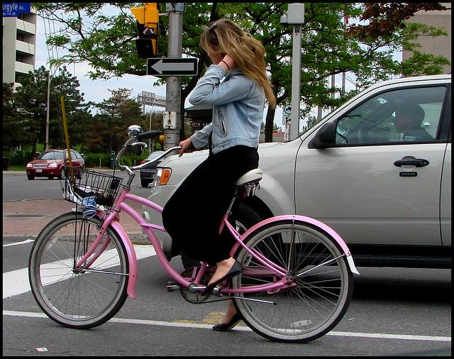 Pink cruiser