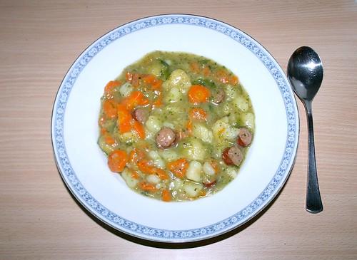 24 - Rosenkohl-Möhren-Topf - Fertiges Gericht