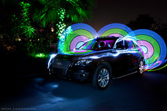 (mxingm) Tags: longexposure light lightpainting car audi lightgraffiti q5