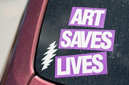 Art saves by Celina Wyss
