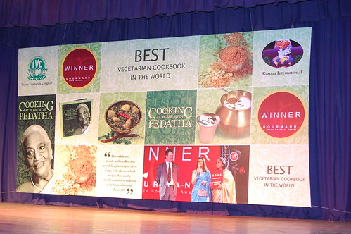 Best vegetarian cookbook felicitation