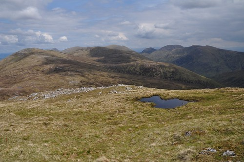 Meall na h-Eilde from Geal Charn
