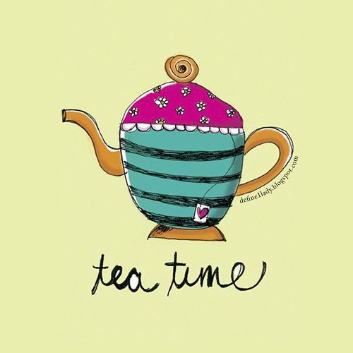TeaTime Illustration by Marivic Ulep