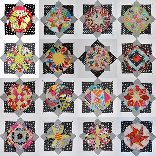 Amitie BOM - 16 circles done! by Lynne @ Lilys Quilts