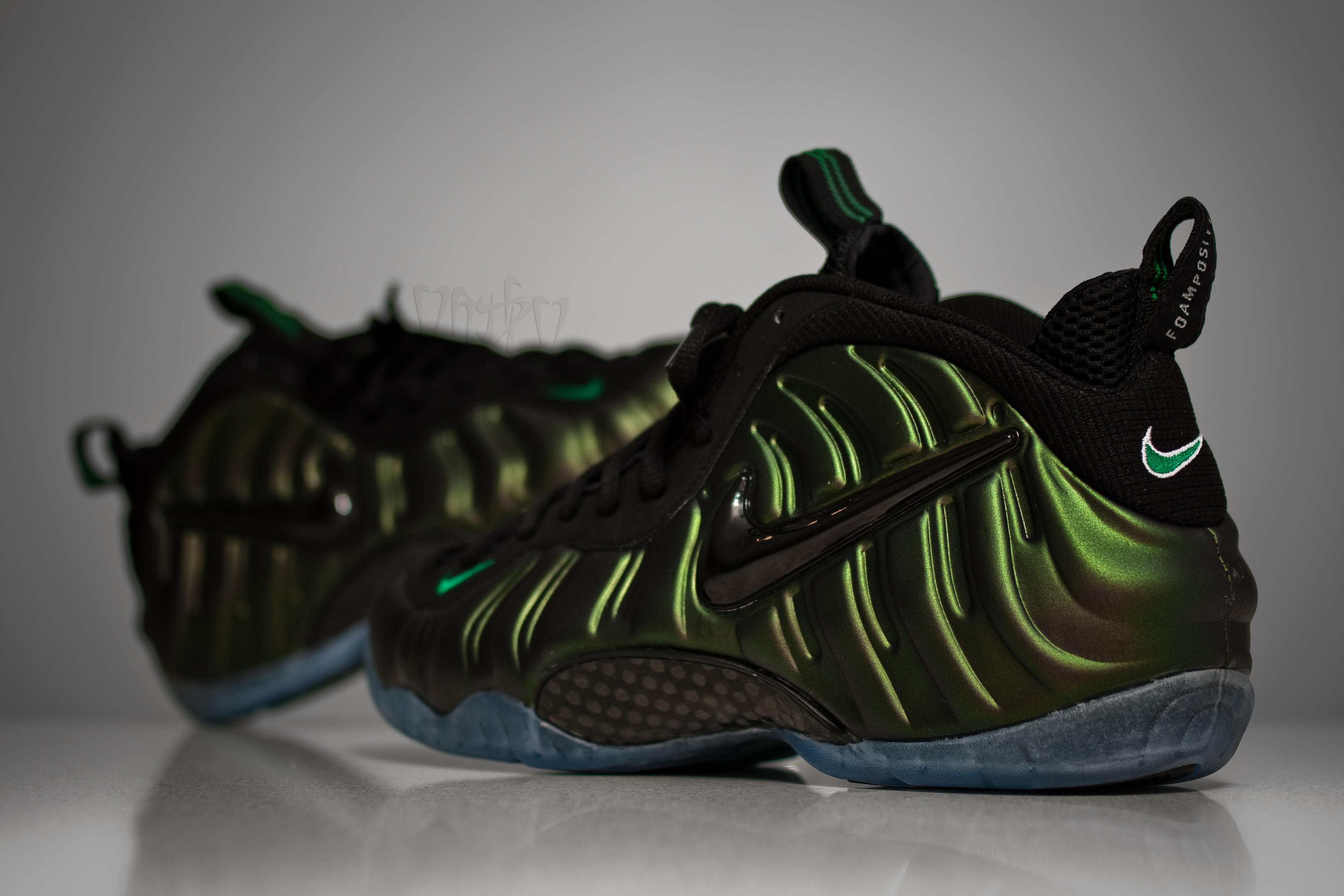 buy popular 2f37b df955 Nike Air Foamposite Pro - Dark Pine/Black - Release 09/2011 ...