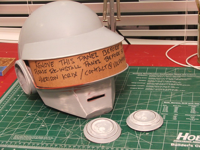 Volpin Props: Daft Punk Helmet (Thomas) Final!
